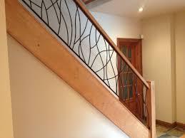 garde corps bois escalier interieur attractive rampe escalier bois et fer forge 3 rampe