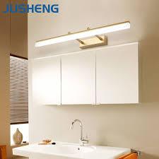 aliexpress com buy jusheng modern bathroom led wall lamp lights