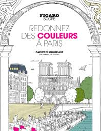 Le Figaro Store  Carnet de coloriage