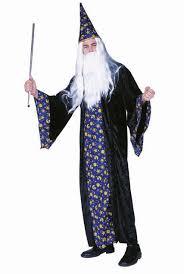 wizard costume blue