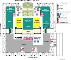University Library Floor Plan House Plan Lb5 Library Floor Plans Locations Hours Concordia