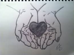 drawing of a heart collection 62