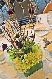 Square Vase Flower Arrangements Curly Willow Low Square Flower Vases Wedding Google Search