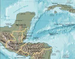 Middle America Map Map Of Honduras Honduras Regions Rough Guides Rough Guides