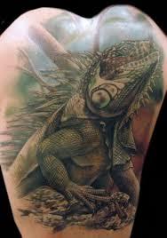 38 lizard reptile tattoos