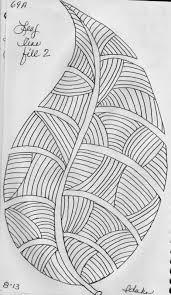 luann kessi sketch book leaf designs 1
