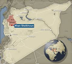 Syria On The Map by Syrian Father Watched 22 Relatives Die In U0027gas Attack U0027 Daily