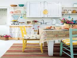 retro kitchen decor ideas vintage kitchen decor ideas in eye brown wooden counter complete