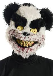 charles teddy panda bear evil halloween party fancy dress
