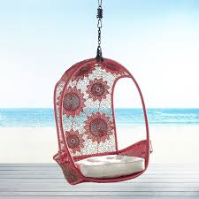 Swingasan Cushion by Red Flower Swingasan Hanging Chair Pier 1 Imports