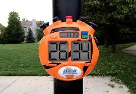 amazon com gameday basketball scoreboard for kids portable