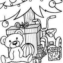 christmas gift coloring pages 14 xmas coloring books