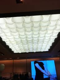 fluorescent light covers fabric sculptural fluorescent light cover ledideo display creative with