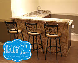Diy Home Bar by Diy Bar Cabinet