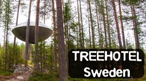 tree hotel sweden treehotel sweden the famous mirror cube the ufo and more youtube
