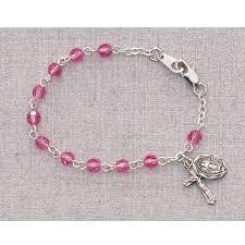 baby rosary bracelet category