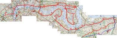 Map Running Routes by Serpentine Running Club Running Course Map