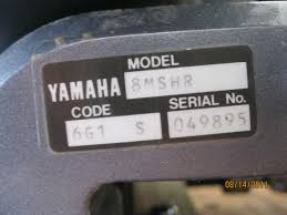 for sale yamaha 8hp 2 stroke 15
