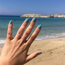 creative nail design we got the blues your posts us cnd creative nail