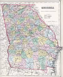 Georgia Country Map Early Explorations U2013 Georgia Historical Society