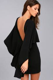 backless dress chic black dress backless dress lbd 54 00