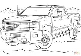 2017 chevrolet silverado 3500hd high country coloring page free