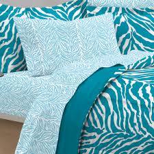 Queen Zebra Comforter Aqua Blue Zebra Bedding Twin Xl Full Queen Teen Comforter Set