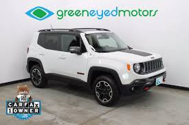 silver jeep renegade 2017 jeep renegade trailhawk green eyed motors