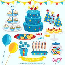 boys birthday boys birthday party digital vector clip baby boy cakes