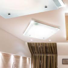 Wohnzimmer Lampe E27 Design Decken Leuchte Lampe Metall Weiß Mit Muster 2x E27 Globo