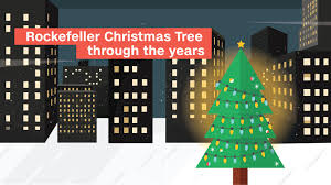 rockefeller christmas tree lights up cnn travel