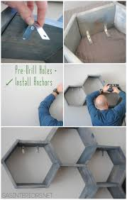 Diy Honeycomb Shelves the 34 best images about interiors on pinterest