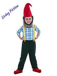 4t Halloween Costumes Nwt Gnome Boy Halloween Costume Elf Beard Hat Size Toddler 3t 4t