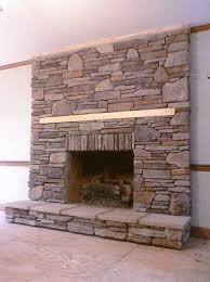 fireplace veneer over brick install stone veneers over old brick