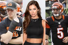 halloween city dalton ga without dalton bengals turn to aj mccarron u2014 and katherine webb