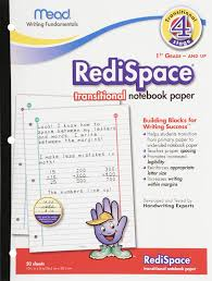 picture and writing paper amazon com mead redispace transitional notebook paper stage 4 amazon com mead redispace transitional notebook paper stage 4 10 5 x 8 inches 50 count 48018 letter writing pads office products
