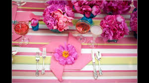 easy simple diy bridal shower party decorations youtube