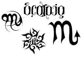 scorpio tattoos and designs page 81
