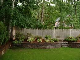 small backyard retaining wall amys office