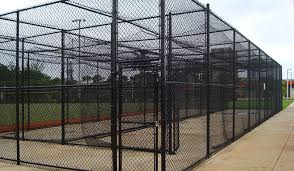 Batting Cage For Backyard by Vinyl Coated Chain Link Fence Is Excellent For Batting Cages At
