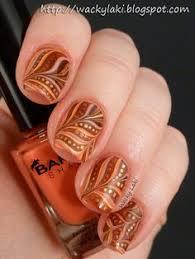 35 leaf nail ideas leaves bright nail and bright nails