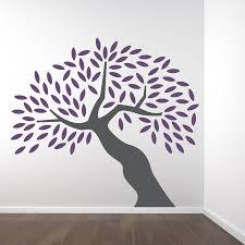 big tree wall decal