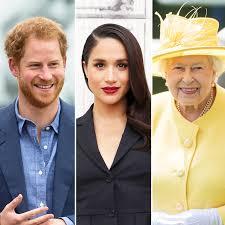 prince harry meghan meghan markle finally meets queen elizabeth
