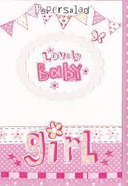 baby girl cards lovely baby girl card karenza paperie