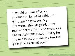 Regret Letter Unable To Join write an apology letter relationships recovery and thoughts