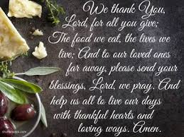 5 great and prayers before meals beliefnet thankful