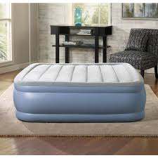 Aerobed Queen Air Mattress With Headboard by Air Mattresses Bedroom Furniture The Home Depot