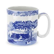 spode blue italian small mugs set of 4 spode uk