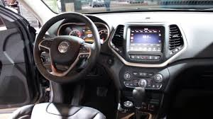 cherokee jeep 2016 price 2016 jeep cherokee high altitude interior walkaround price 2016