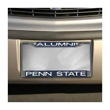 penn state alumni license plate student book store w55280 penn state alumni license plate frame